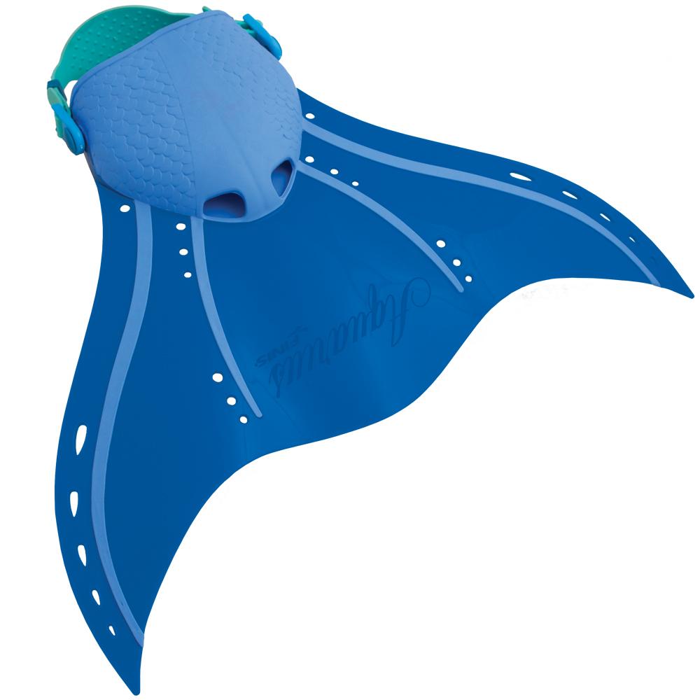 Monopinna Sirena Aquarius blu