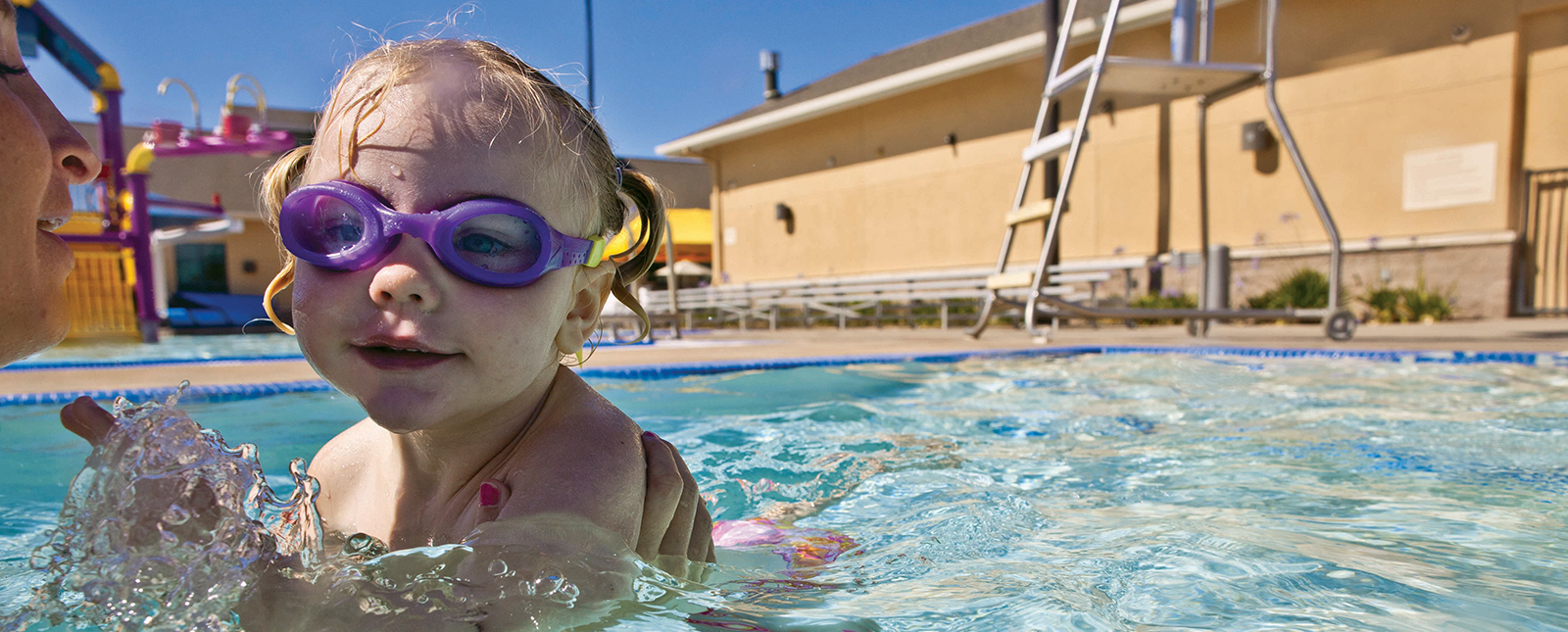 occhialini bambino nuoto profumati