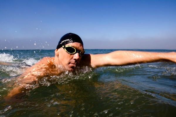 Occhialini Polarizzati Triathlon Acque Libere SURGE Finis