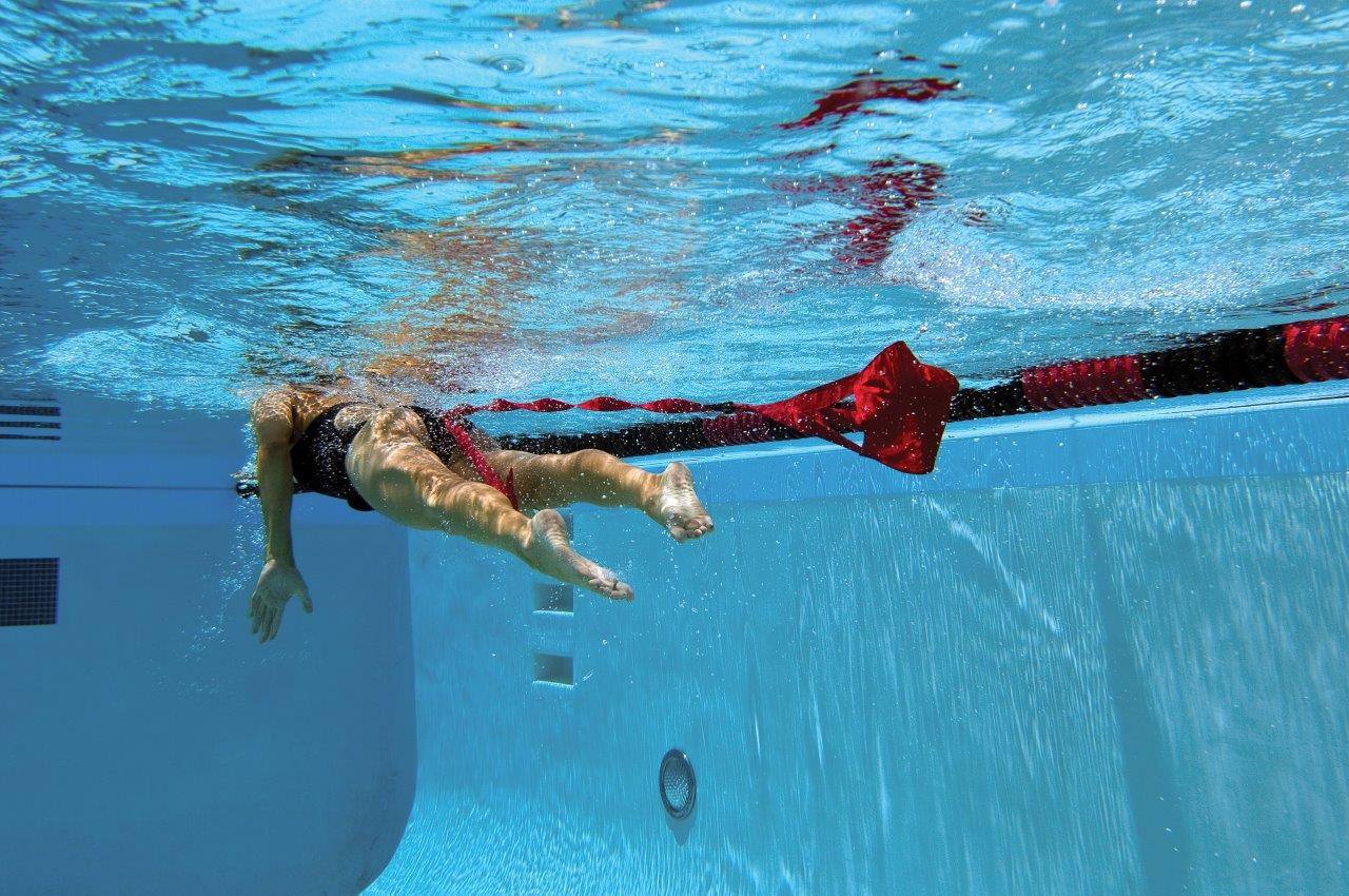 Paracadute nuoto frenato Finis